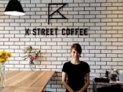 岡山・県庁通りにカフェ&バー 3階テラス席でコーヒーとアレンジメニュー提供