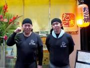 岡山・柳町のたこ焼き店が15周年 メニュー25種、熱々たこ焼きの配達も