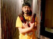 岡山の西大寺会陽前夜祭でタップダンス 般若心経に乗せて奉納