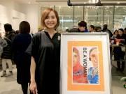 岡山で村上めぐみさん5年ぶりのイラスト展 女性が自分らしく生きる姿