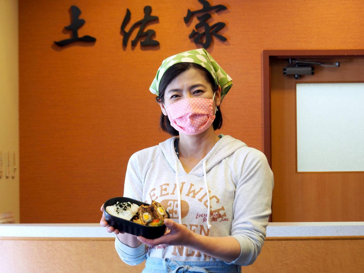お母ちゃん業弁当」を始めた土佐家旅館のおかみ・今井宮子さん