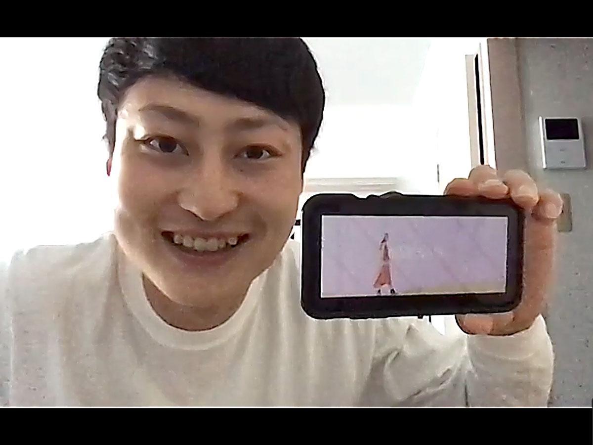 オンライン教室「シーソー」を企画したインターンの田村竜偉さん