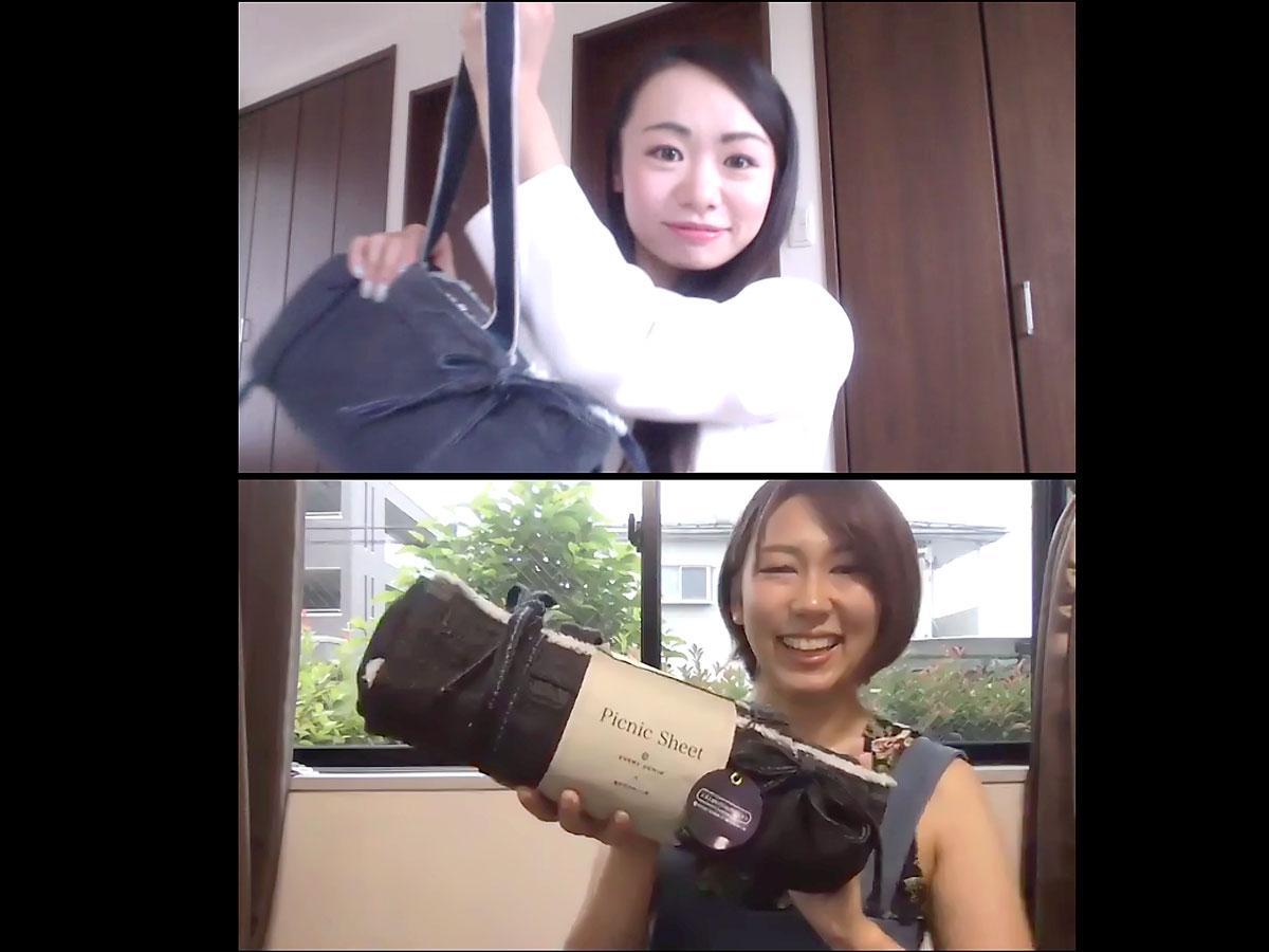 (上から)瀬戸内かわいい部の梅崎泰佳さん、南裕子さん