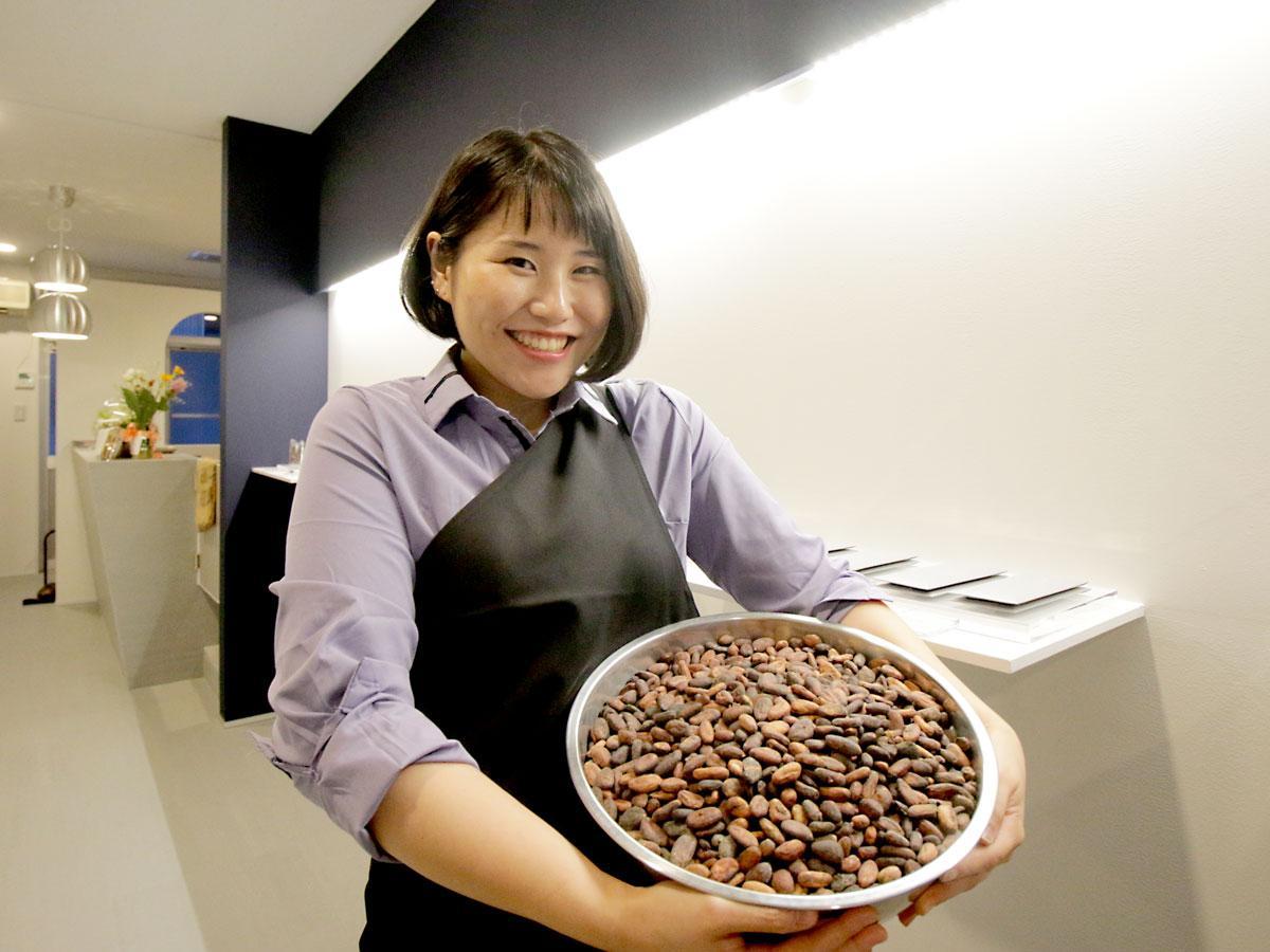 チョコレート店「Alfer(アルファ)」の阿地由季子さん