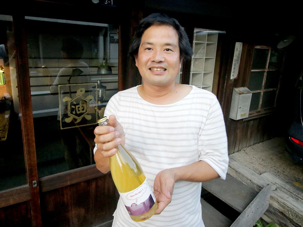松井農園の松井一智さん