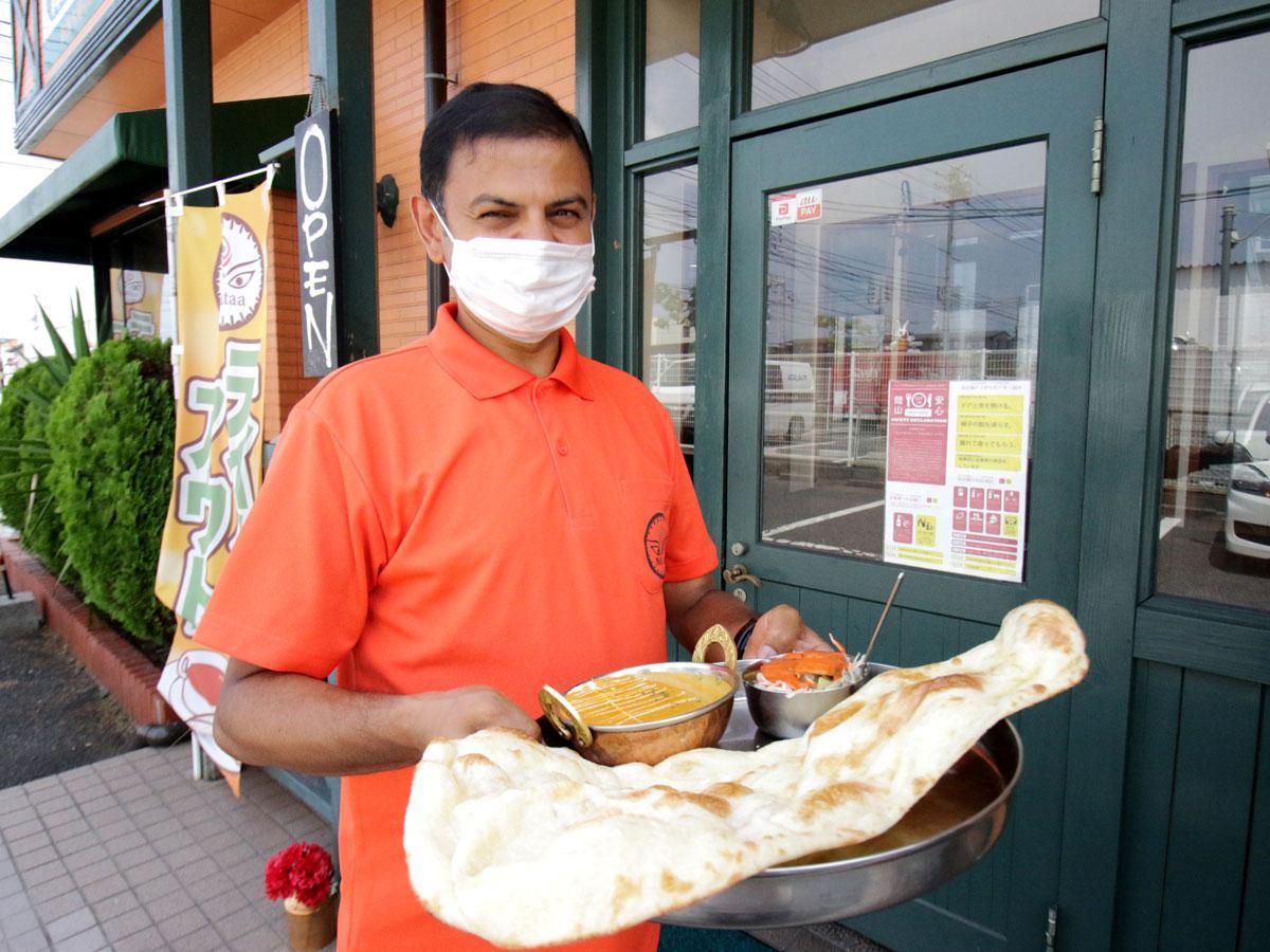 インドダイニングカフェ「マター」の店主・アチャーリヤ・プレム・プラサドさん
