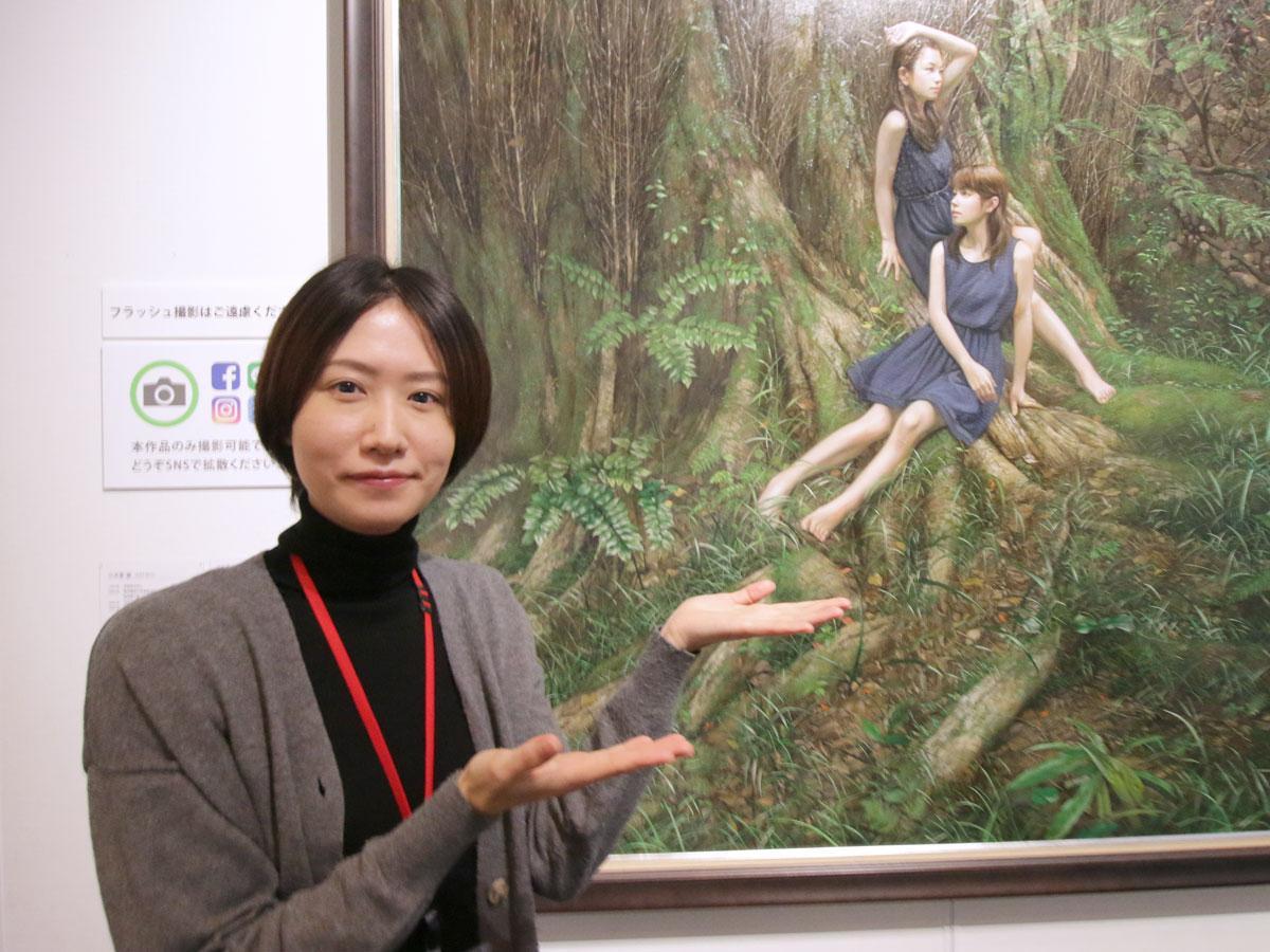 岡山シティミュージアム学芸員の瀬戸裕子さん