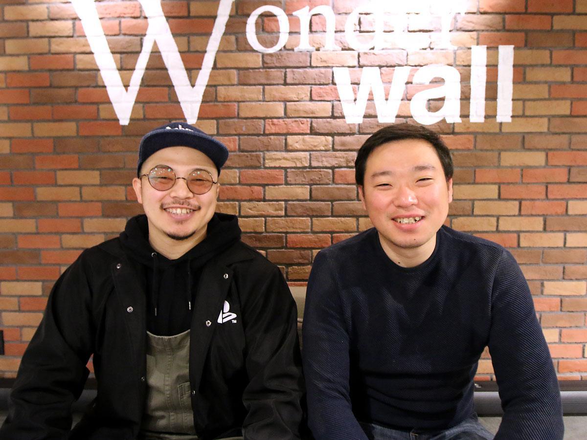 主催者の小笠原修さんと山田浩徳さん