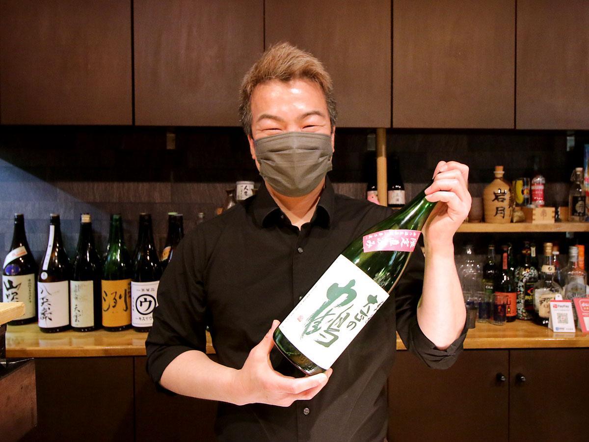 日本酒販売イベント「酒囲来人(サイクルヒット)」実行委員会の岩月崇浩さん