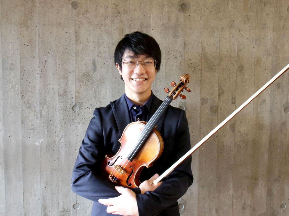 「The Most」を率いるバイオリニスト・福田廉之介さん