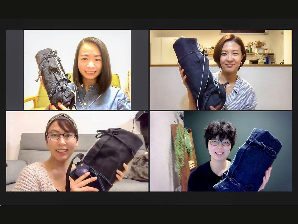 「瀬戸内かわいい部」共同代表の梅﨑泰佳さん(左上)、梶原麻美子さん(右上)、南裕子さん(左下)、鈴木ヘレンさん(右下)