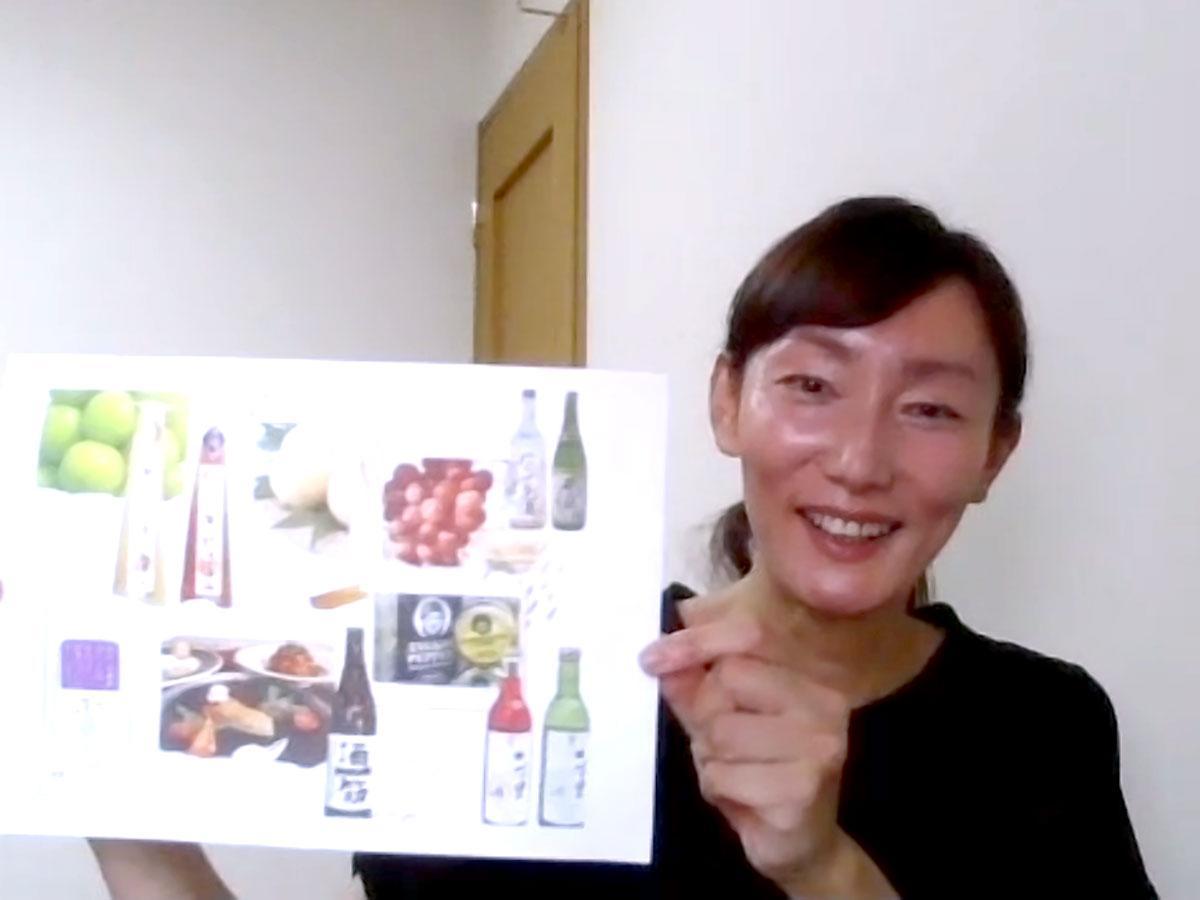 赤磐市地域おこし協力隊の戸田洋美さん