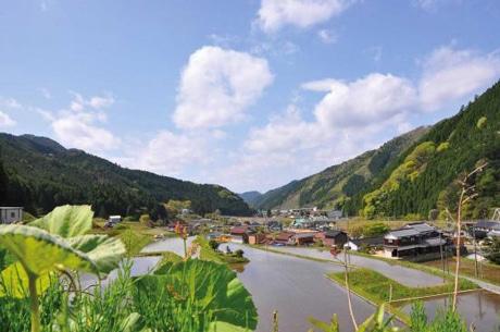 西粟倉村の風景 - 岡山経済新聞