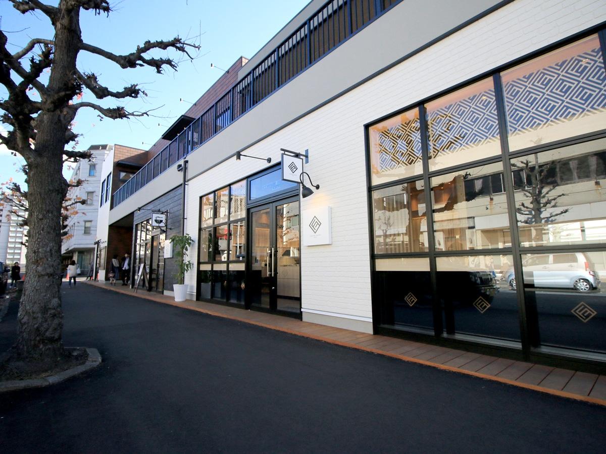 岡山経済新聞問屋町テラスの「COUTURE FUKUIDO TOKYO(クチュール フクイドウ トウキョウ)」外観