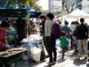 岡山で今年最後の「有機生活マーケットいち」 西川で年越し準備を