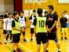 3×3バスケ日本代表男子が岡山市の中学校を訪問 バスケ部生徒とミニゲームも