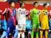 ファジアーノ岡山がキックオフイベント 新ユニホーム披露、ファン800人が見守る