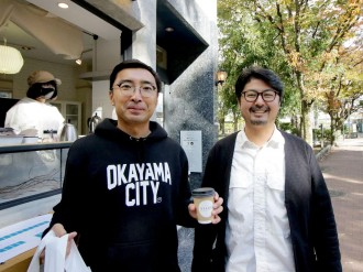 岡山・石山公園の目の前で日替わり店舗 日常的に公共空間を楽しむ取り組み