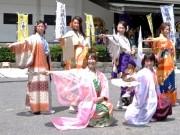 岡崎に「あいち戦国姫隊」初お目見え-なぎなたさばきや華麗な舞を披露