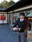 岡崎の茶葉問屋「宮ザキ園」が「合格茶」-学問の神様・岩津天神で限定販売