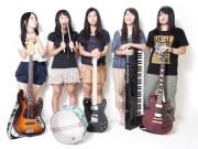 岡崎の女子高校生バンドがCDリリース-卒業記念に廃校でPV撮影も
