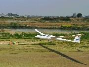 岡崎でグライダー市民体験飛行-上空300メートル、静かな空の旅を堪能