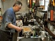 岡崎・福岡町の小料理店「宮もと」が1周年-「岡崎おうはん」など地産食材使う