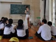 岡崎・竜南中学校で「仕事人との座談会」-声優・看護師など19人、勢ぞろい