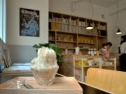 岡崎のせんべい店「一隆堂」が店横に期間限定喫茶室-トリエンナーレ客休憩場に