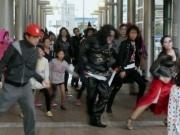 岡崎市シビックセンターでハロウィーンイベント-「フラッシュモブ」も