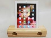 電源不要iPad用木製スピーカー、岡崎の注文家具製造工房が創業60年で