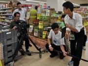岡崎・康生の街を高校生がCM撮影で応援-10月人気投票、11月結果発表