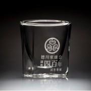 家康公顕彰四百年記念のダブルウォールグラス、岡崎の企業が限定発売