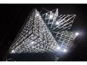 岡崎の建築板金工事業がビルをアート化 あいちトリエンナーレ