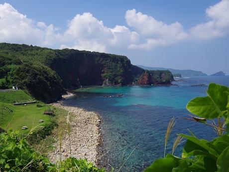 「島のIT移住体験ツアー」が実施される海士町は豊かな自然に恵まれている