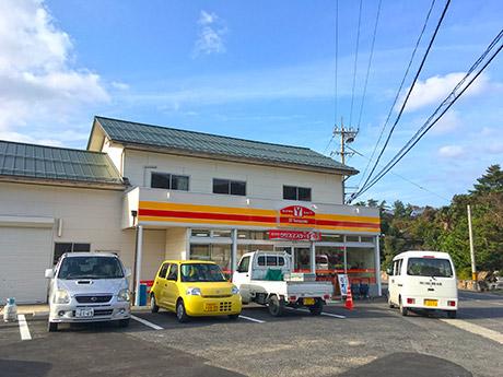 隠岐諸島初のコンビニ・Yショップ隠岐都万店