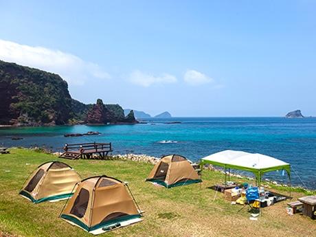 適AAの評価を受けた海岸の一つ「明屋」(海士町豊田)。2016年撮影