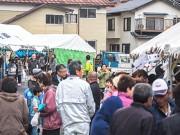 隠岐・中ノ島で海士町産業文化祭 この冬一番の寒さもにぎわう