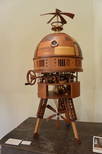 藤本さんの代表作「peeping dome」