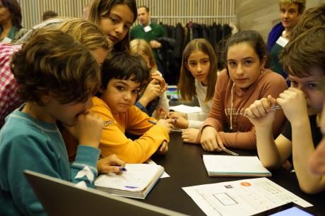 スペインで開催された第1回世界算数のイベントの様子