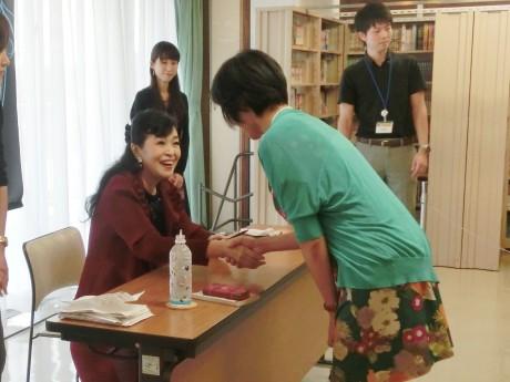 ベルばらの世界そのもののような上品な笑顔の池田さん