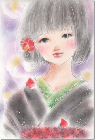 繊細でかわいらしい伊東千江さんイラスト