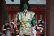 大宮の武蔵一の宮・氷川神社で「節分祭」 力士・落語家らが豆まき