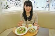 大宮ルミネの日比谷松本楼で開運プレート 埼玉県産の野菜たっぷり