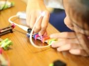大宮で電子ブロック「リトルビッツ」体験会 子どもも簡単に電子工作