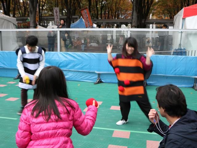 ユニバーサルスポーツフェスティバルで「ペガーボール」に挑戦