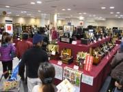 さいたまスーパーアリーナで五月人形展示即売会 県内メーカー一堂に、似顔絵イベントも