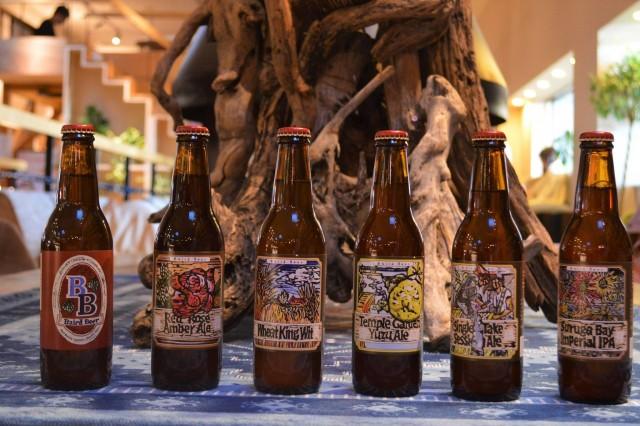 飲み比べをする予定のクラフトビール「ベアードビール」