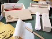 さいたまの和雑貨店にオリジナル新商品 火災見舞いの直筆手紙きっかけに考案