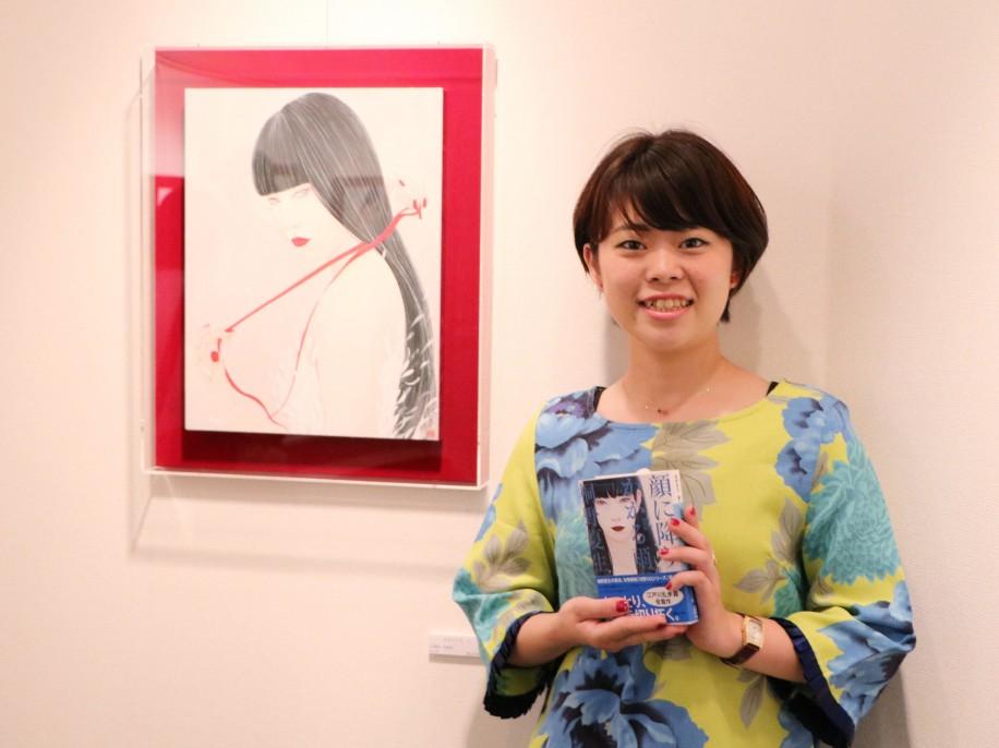 丁子さんのカバー装画版の作家桐野夏生さんの小説「顔に降りかかる雨」